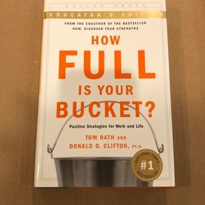 NEW How Full is Your Bucket BOOK Educator's Edtn
